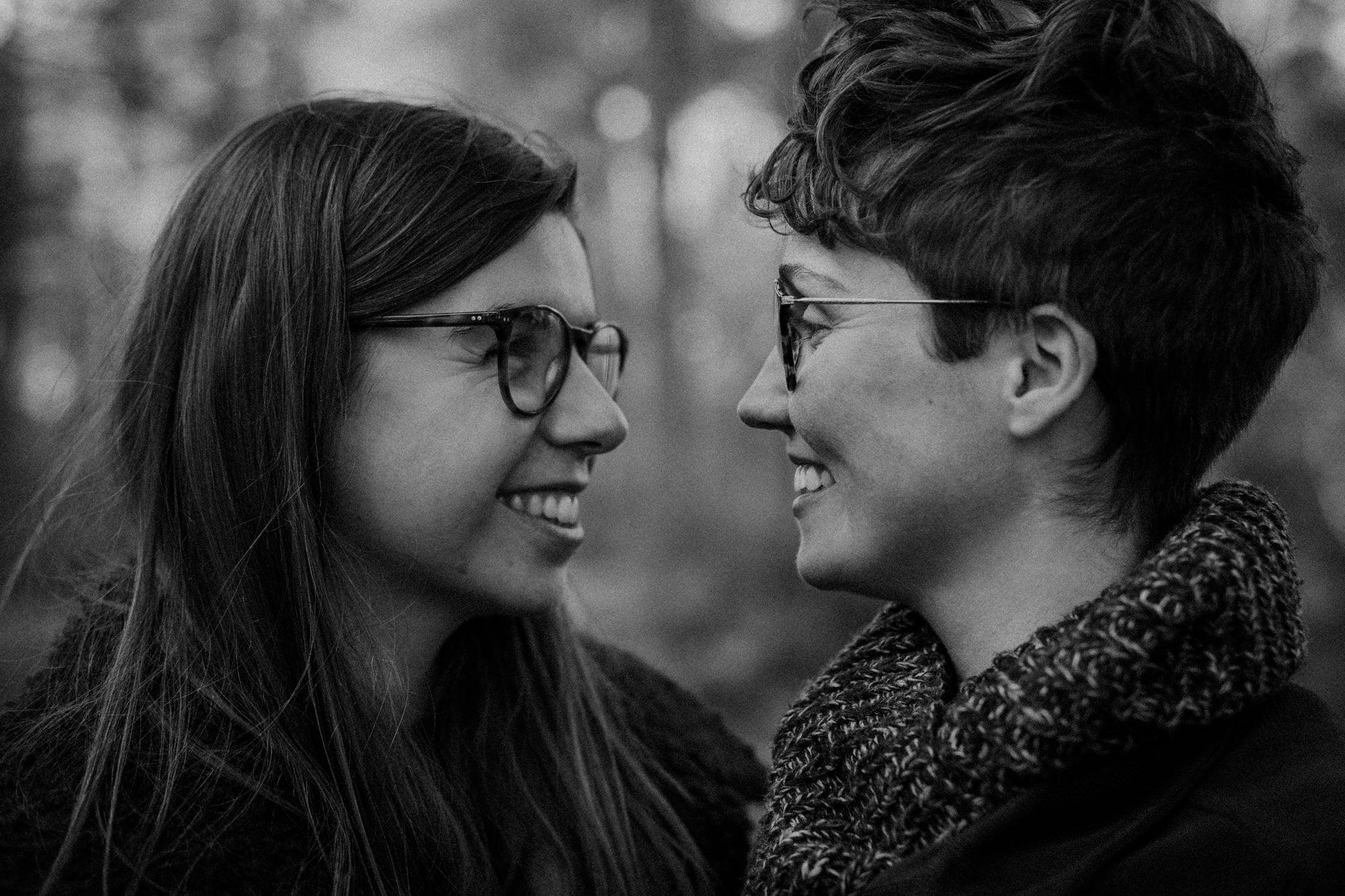 Tentsmuir Forest Pre-wedding Photo Session, Same-sex couple pre-wedding photoshoot Scotland