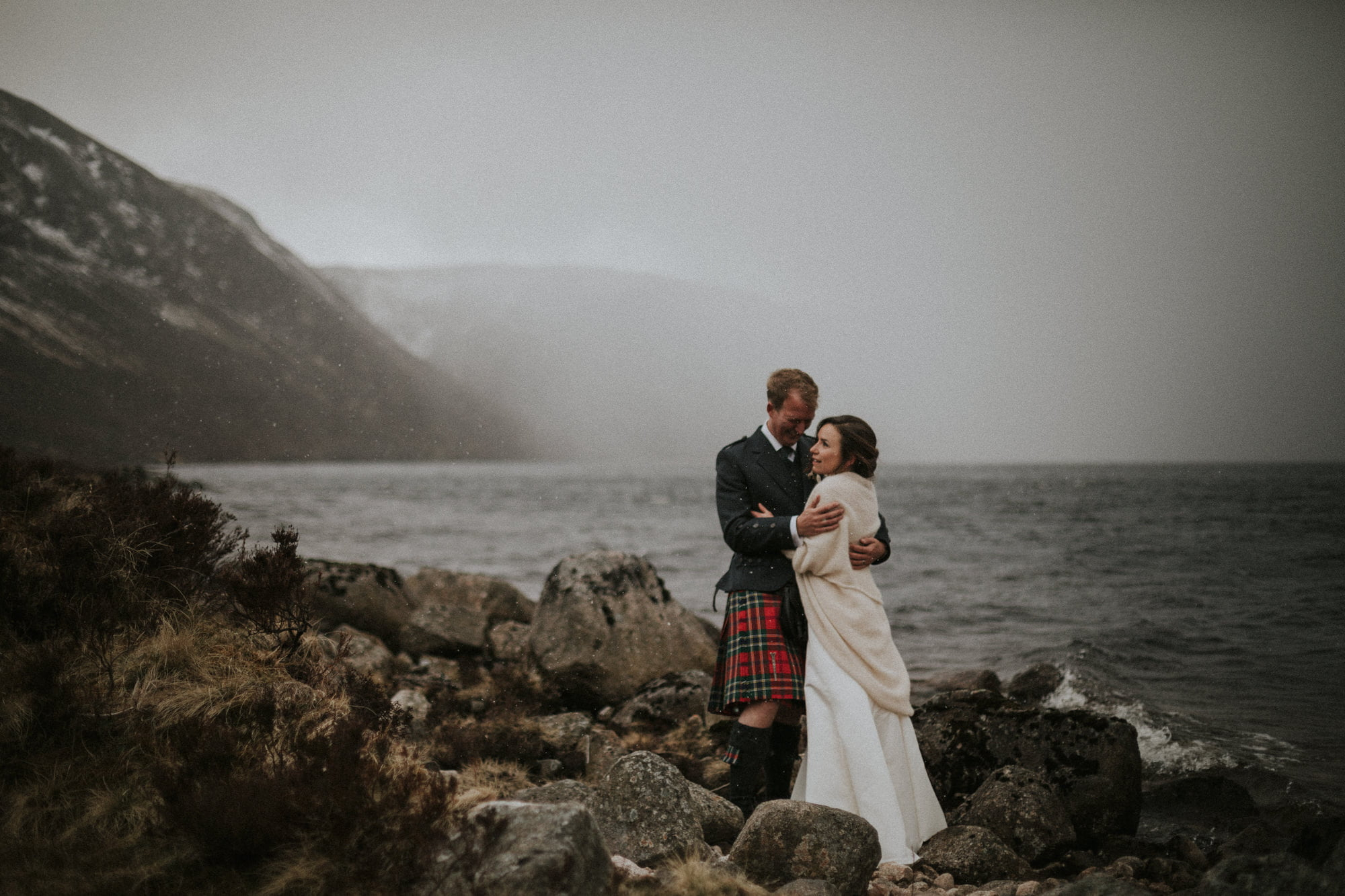 Cairngorms National Park, Loch Muick elopement