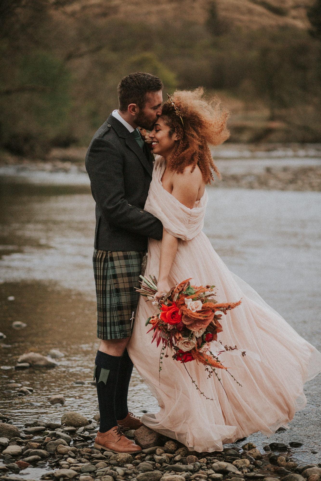Elopement Photographer Scotland - St Mary's Space, the secret wedding venue in Scottish Highlands