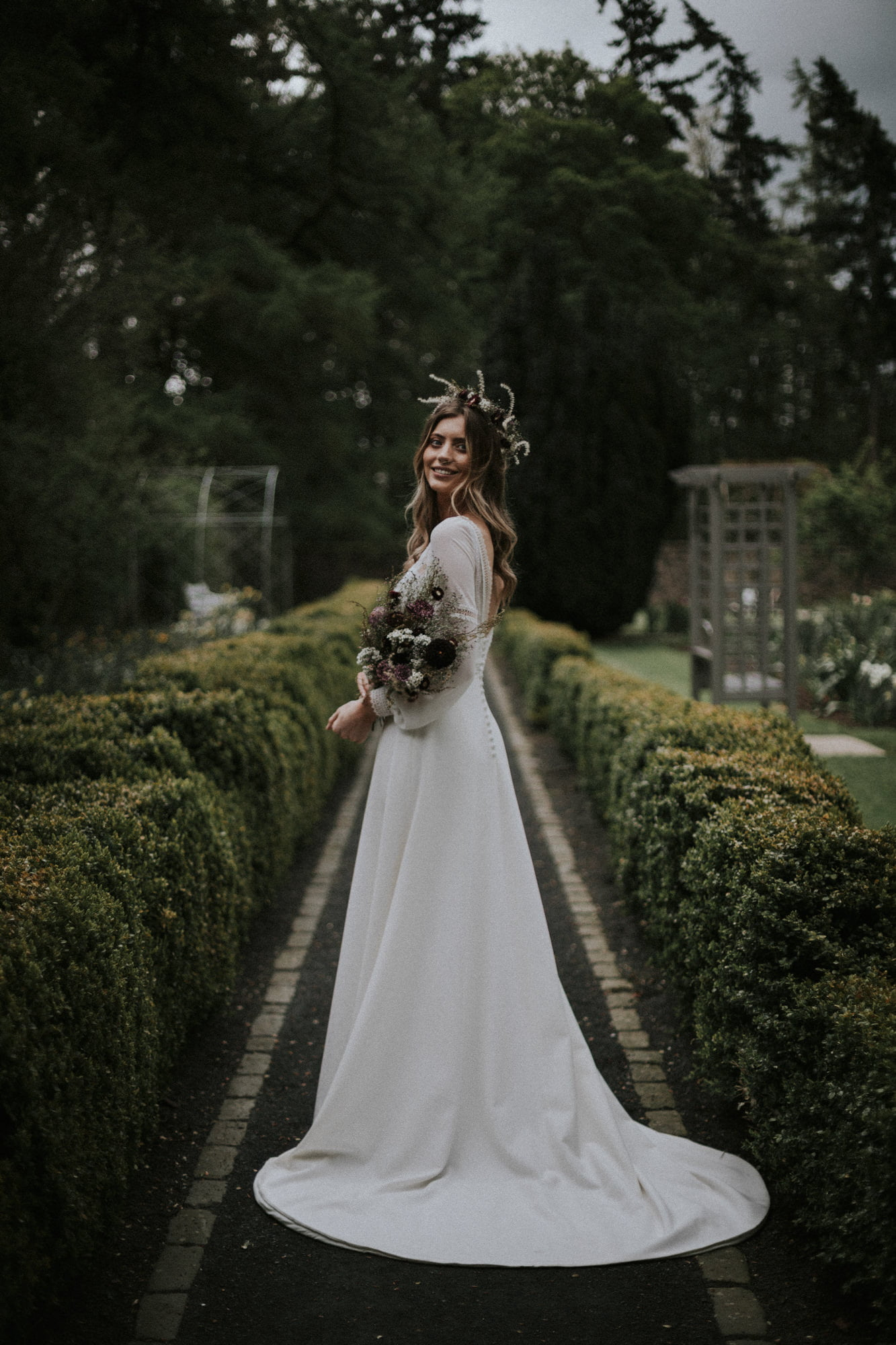 Backhouse Rossie Estate Wedding Venue in Fife, Oscar Lili - Boho Wedding Dresses, Backhouse Rossie Wedding Venue