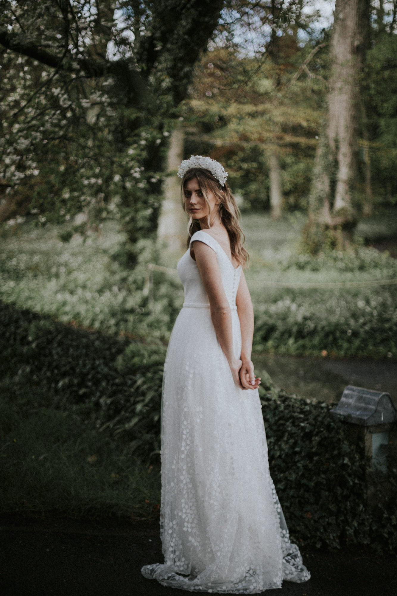 Oscar Lili - Boho Wedding Dresses, Backhouse Rossie Wedding Venue