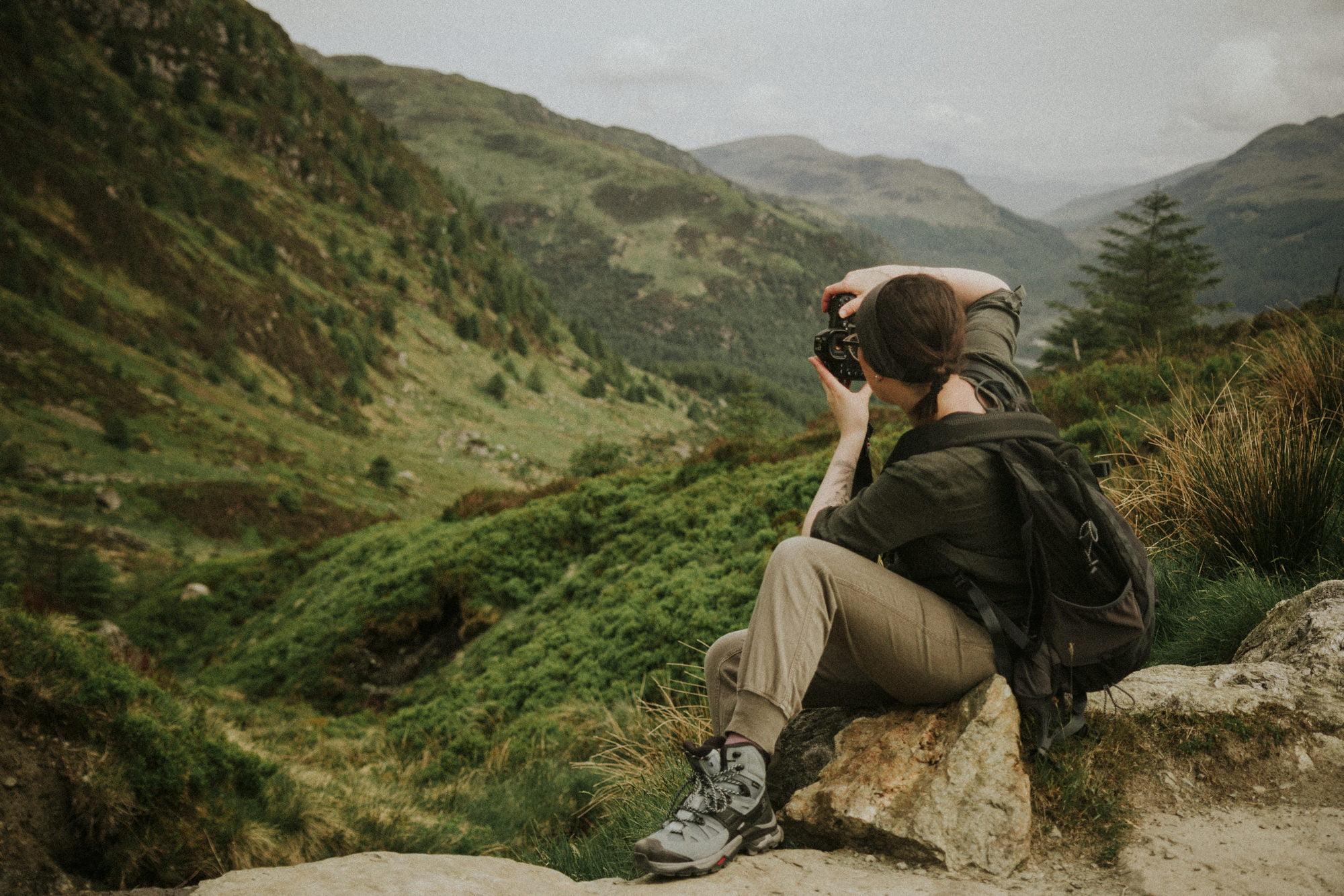 Ben Ledi elopement photographer