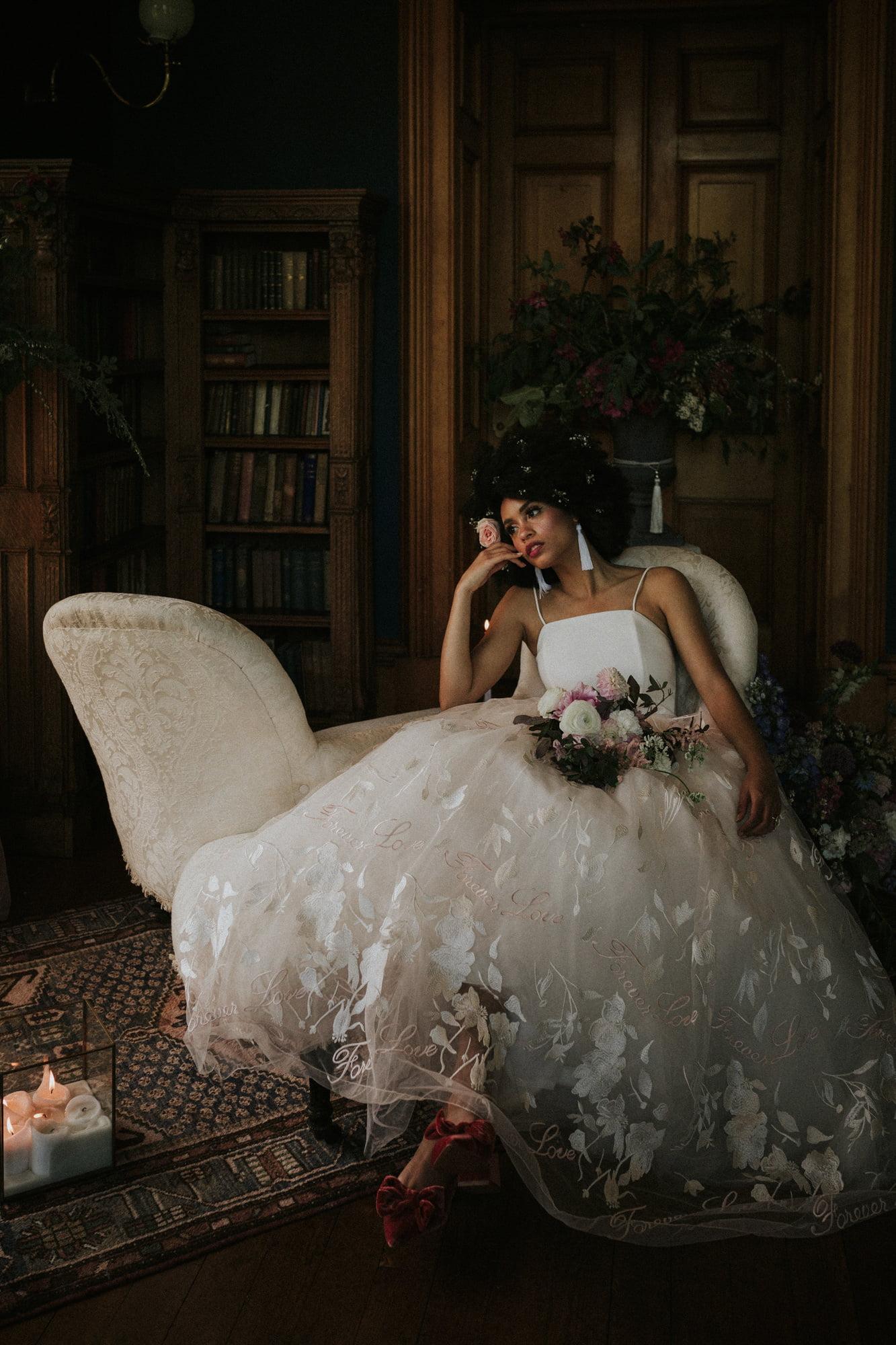 Cambo Estate wedding photographer, spring Cambo Estate wedding