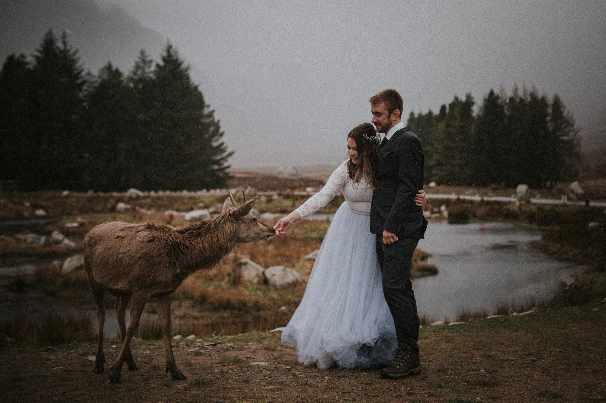 Kingshouse Glencoe wedding, Elopement in Glencoe, Scotland. Intimate wedding in Scotland, Kingshouse Hotel Glencoe wedding, Glen Etive elopement