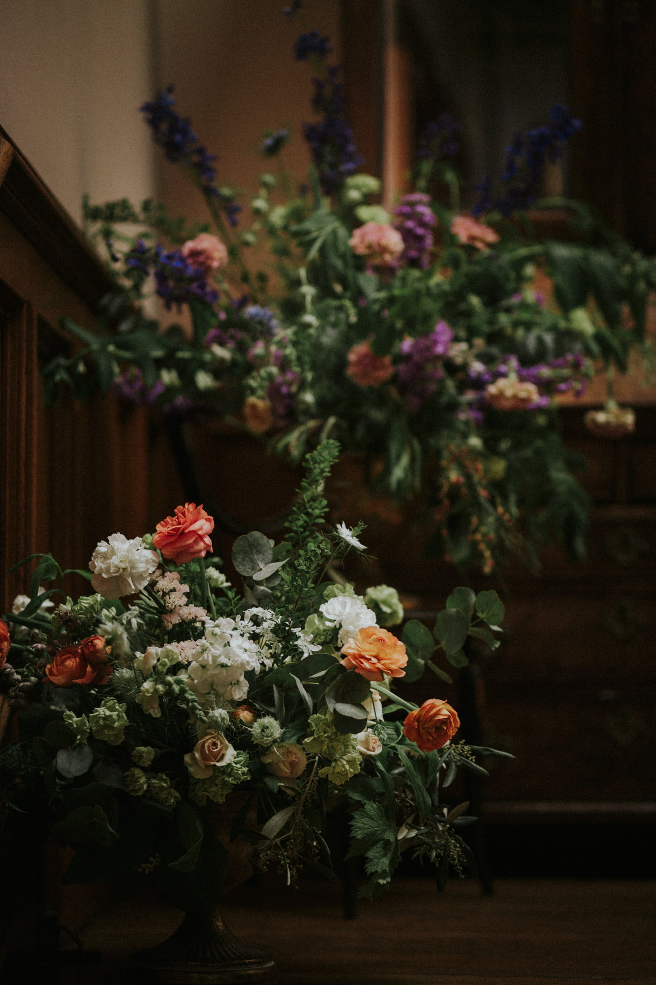 Romantic Cambo Estate Wedding, Cambo Estate intimate wedding