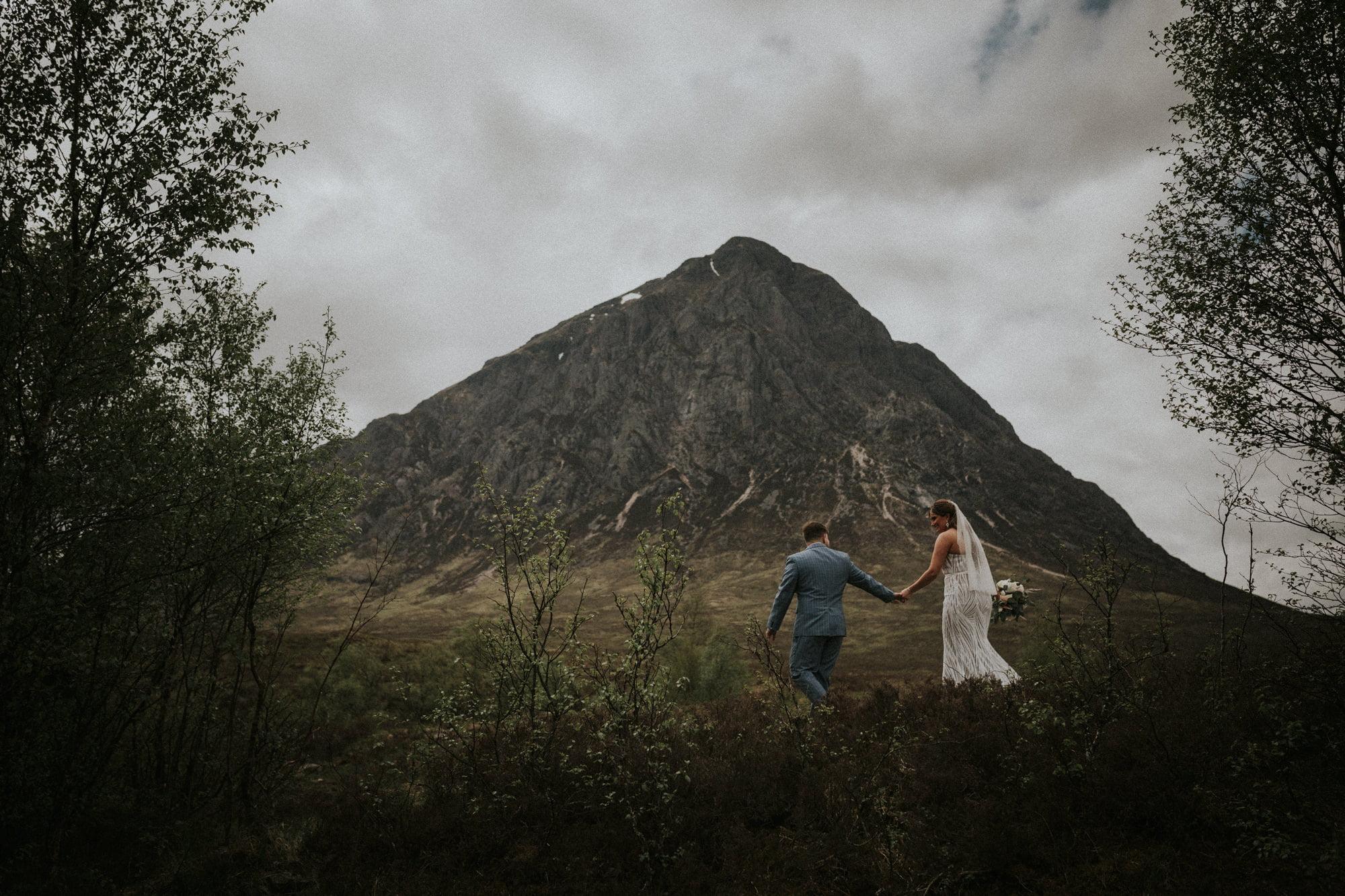 romantic Glen Etive elopement