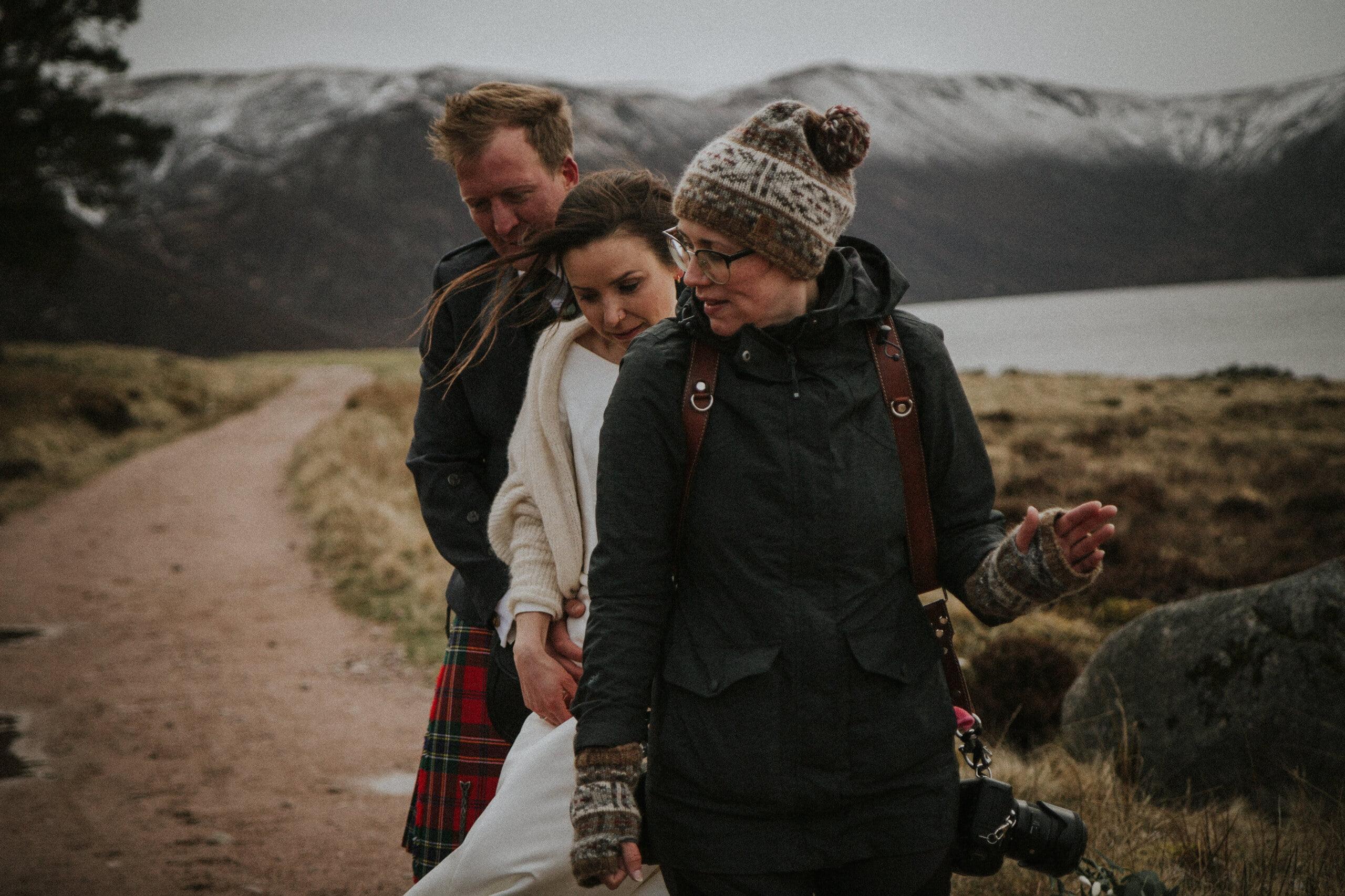 Loch Muick elopement