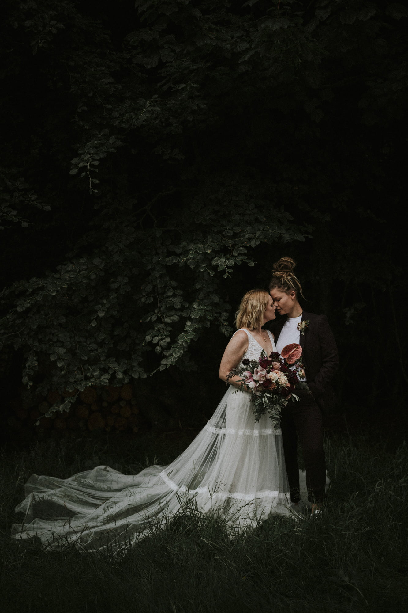 Scotland same-sex elopement, Glen Dye Cabins & Cottages elopement, Bridge of Dye elopement, Ella Mai Elopements Planner Scotland