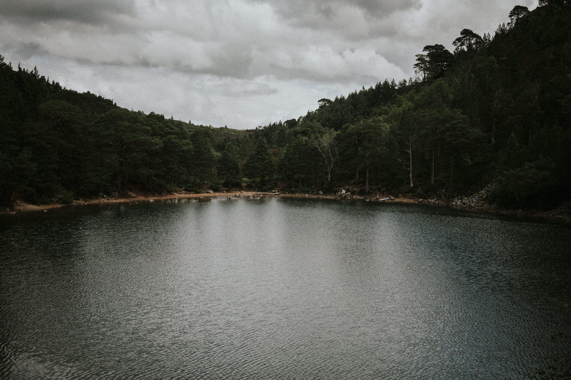 An Lochan Uaine elopement, Green Loch elopement, Aviemore elopement, Cairngorms elopement in the Scottish Highlands Lochs